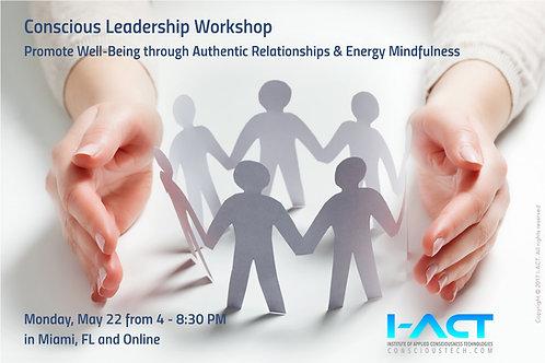 Conscious Leadership Workshop (Miami + ONLINE)