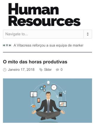 O mito das horas produtivas (HR Portugal)