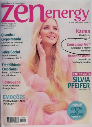 ConsciousTech em capa de revista Portuguesa: Bem-Estar eTecnologias da Consciência
