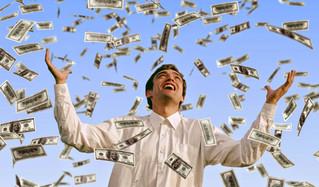 Distribuindo dinheiro sem condições e para todos...