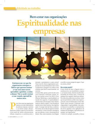 Bem-Estar e Espiritualidadenas Empresas(Revista Zen Energy)