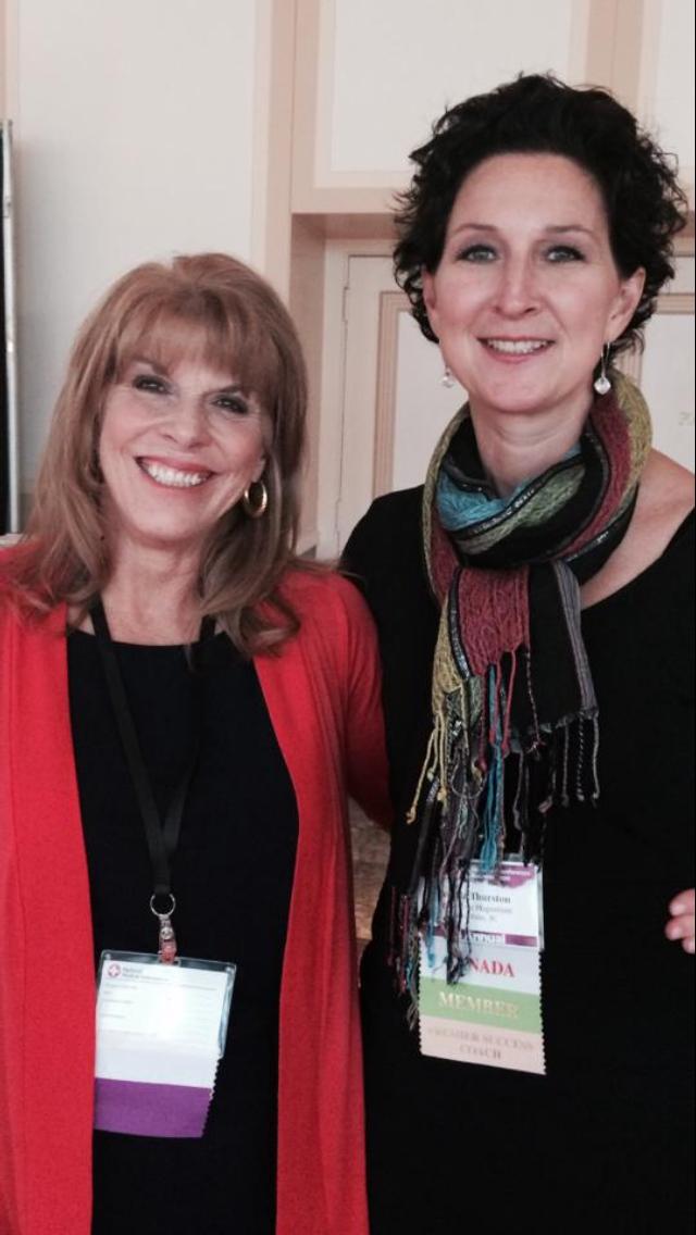 with Angela Thurston