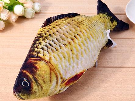 XXL Catnip-Fisch 30cm Großer Karpfen 'Fish 'n' Catnip'