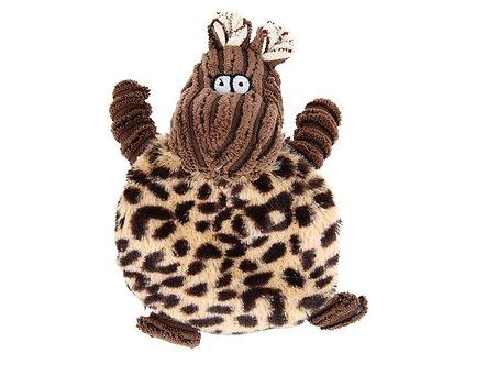 Plüsch-Quietscher für Welpen 'Got you Hippo!'