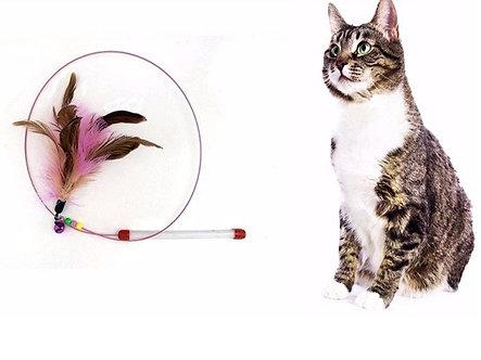 Spielangel aus Draht 'Feather Dancer'