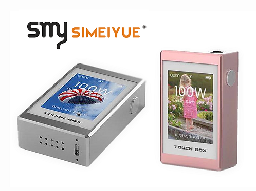 Smy Touch Box 100W  / Metallic Silver oder Metallic Pink