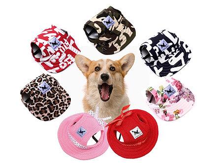 Hunde-Cap zum Schutz vor Sonne 'Look at my cool Cap'/ verschiedene Designs