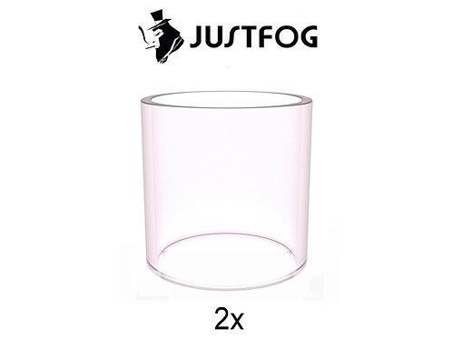 2 x Ersatzglastank für die Justfog Q14 oder Q16  / Klar