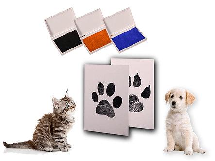 Stempel-Kit 'Paw Prints' / verschiedene Farben