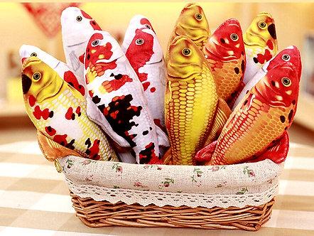 Catnip-Fisch 30cm Koi-Karpfen 'Fish 'n' Catnip' / verschiedene Designs