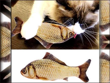 Catnip-Fisch Kleiner Karpfen 'Fish 'n' Catnip' / 20cm