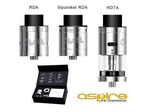 Aspire Quad-Flex Power Pack (RDA / RDTA / Squonker) / SIlber