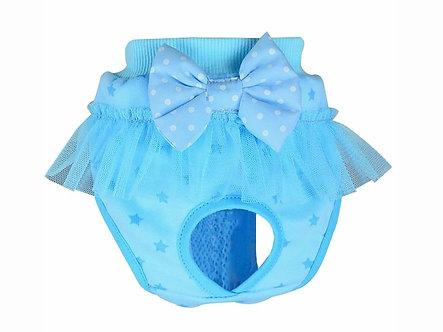 Menstruationshöschen für Hundedamen  'Luxurys: Blue Fairytales' / S-M