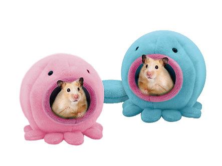 Kuschelhöhle aus weichem Plüsch 'Call me Mr. / Mrs. Octopus'