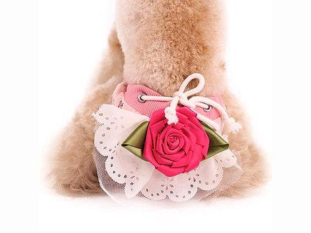 Menstruationshöschen für Hundedamen  'Luxurys: Roses are Pink' / S-M
