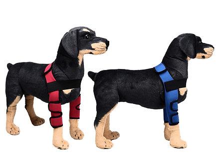 Hunde-Bandage bei Gelenkproblemen 'Support my Bones' / M-L, Blau oder Rot