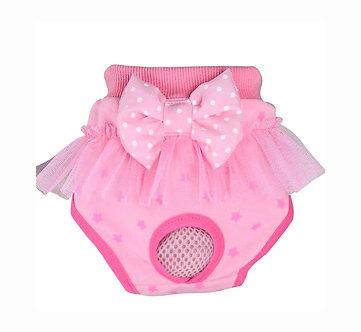 Menstruationshöschen für Hundedamen  'Luxurys: Pink Fairytales' / S-M