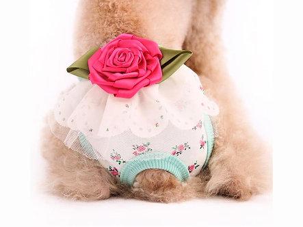 Menstruationshöschen für Hundedamen  'Luxurys: Roses are Blue' / S-M