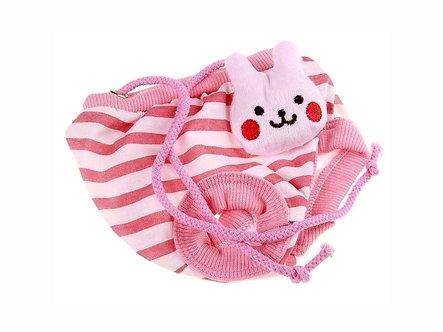 Menstruationshöschen für Hundedamen 'Lovely Animals: Pink Bunny' / S-L