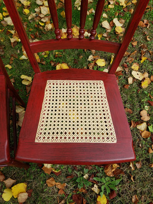 Hand Caned Seat