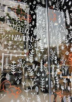 Proyecto windowpainting La Roda Espai