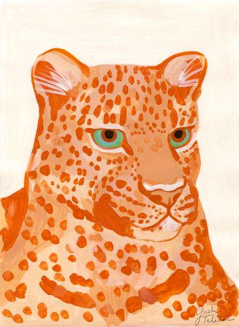 Leopardo rojo