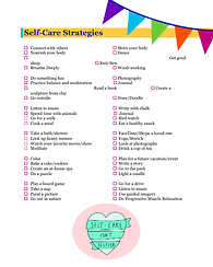 Self-Care Strategies