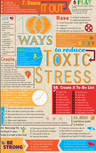 100 Ways to Reduce Toxic Stress