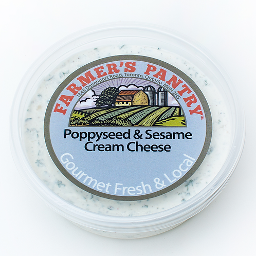 Poppyseed & Sesame Cream Cheese