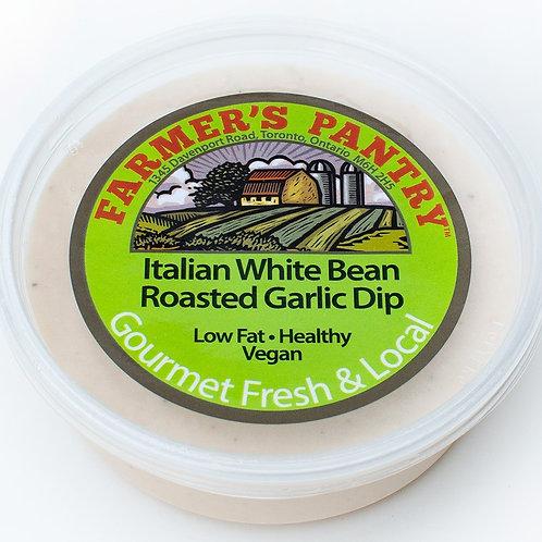 Italian White Bean & Roasted Garlic Dip