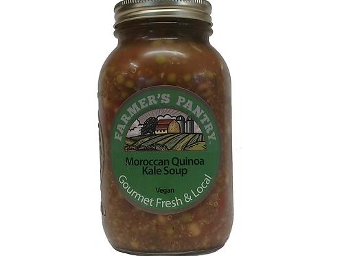 Moroccan Quinoa Kale Soup