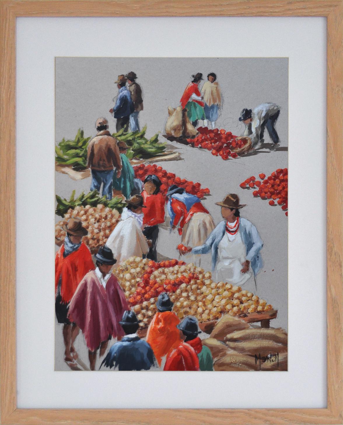 Rouge tomate, 40x50cm, vendu