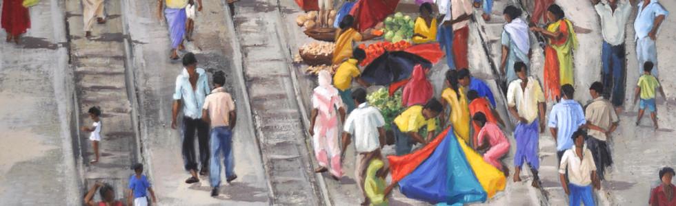 Calcutta, 81x100cm, vendu