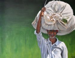 La récolte, 90x70cm, vendu