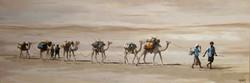La route du sel, 115x50cm, vendu