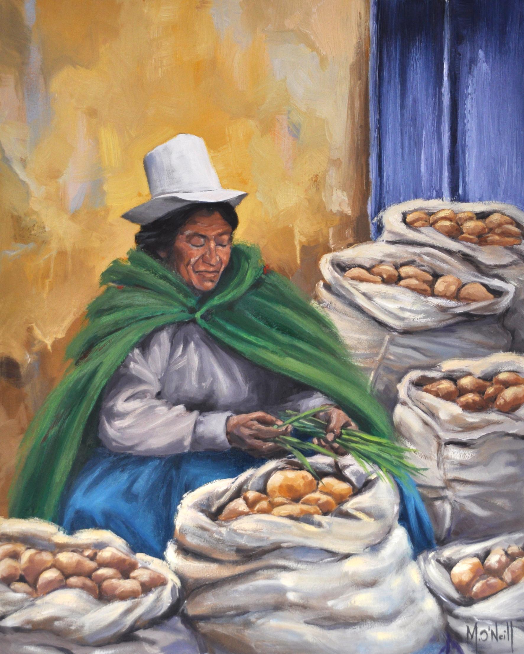 Sacs de patates, 65,5x81cm