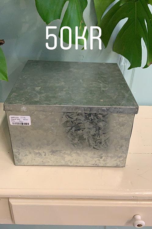 zink kasse firkantet