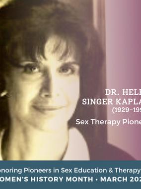Dr. Helen Singer Kaplan: Sex Therapy Pioneer