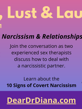 Two Sex Therapists Discuss Narcissism and Relationships