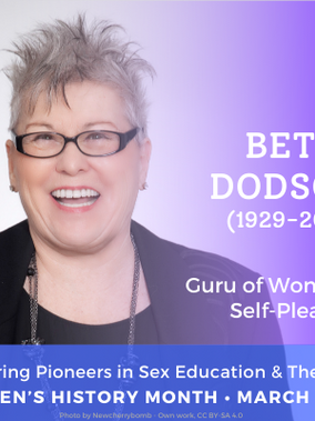 Betty Dodson: Guru of Women's Self-Pleasure