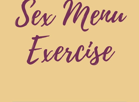 What's On Your Sex Menu?