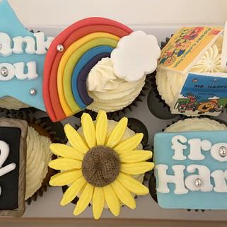 'Thank you Teacher' cupcakes