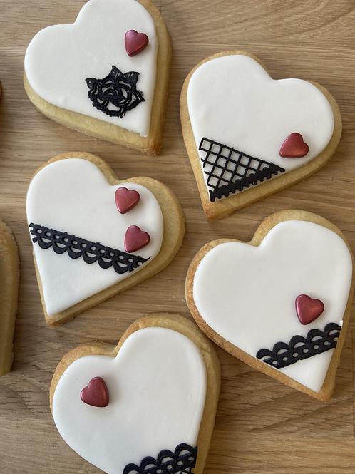 Rich Butter Heart Cookie