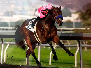 ANOTHERTWISTAFATE impressive winner at Golden Gate.