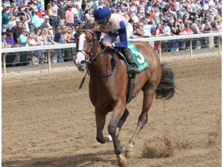 SAGUARO ROW wins impressively at Keeneland after a year off!