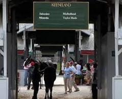 Keeneland Sale barns