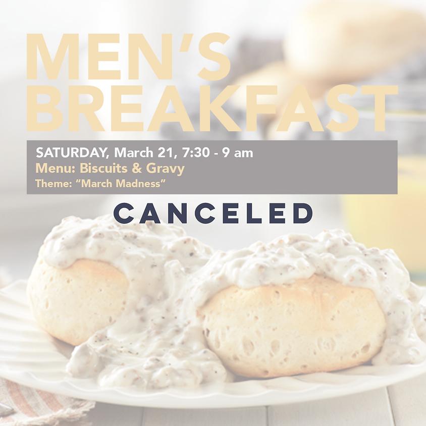 Canceled- Men's Breakfast
