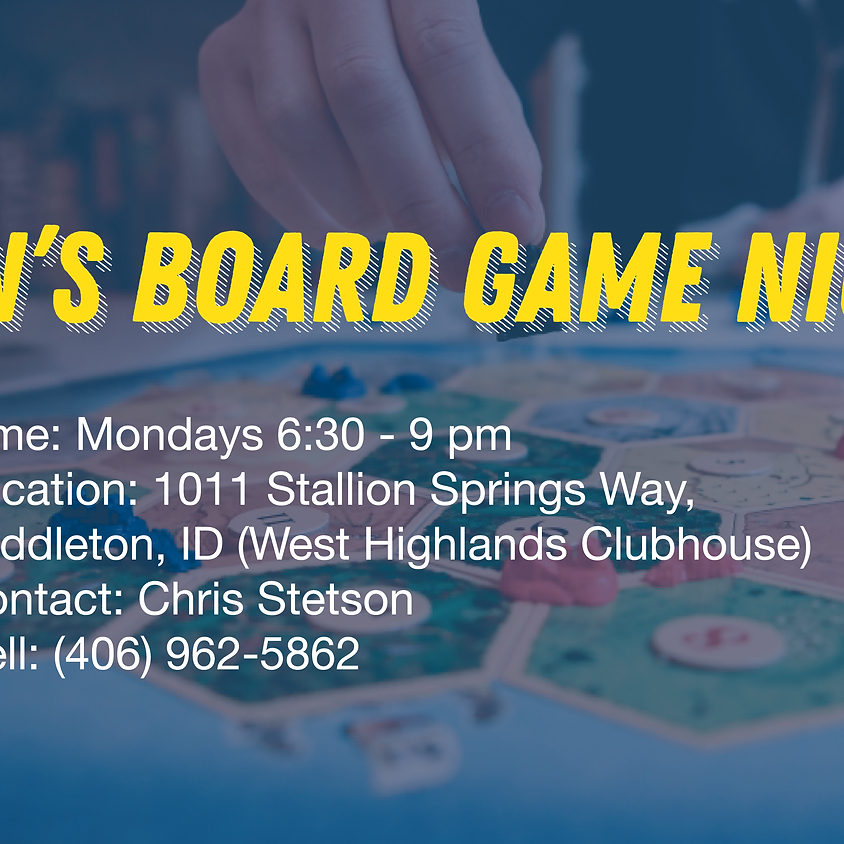 Men's Board Game Night