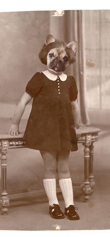Claudine Deschien, fille d'André et Jeanne