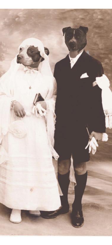 Paul et Geneviève, communion solennelle, 1946